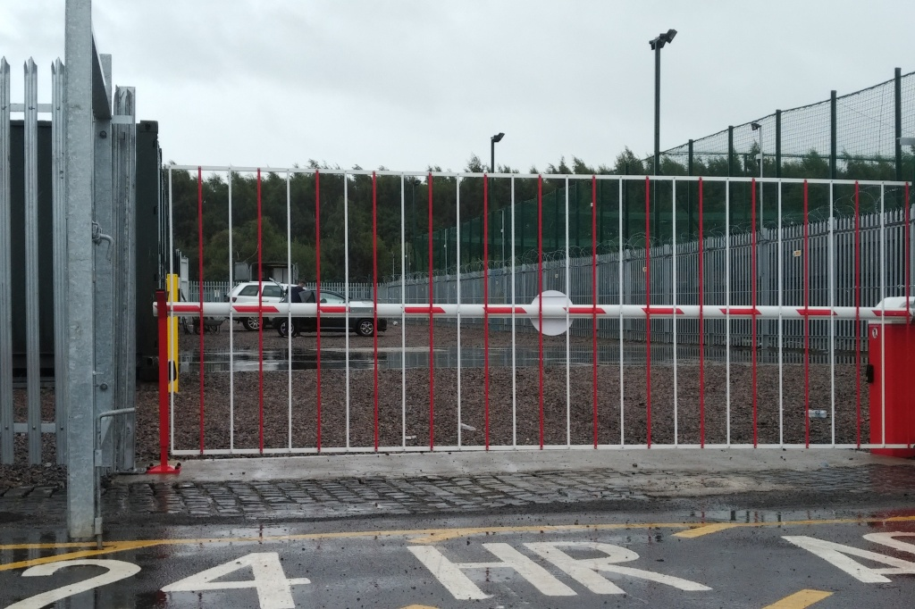 site entry barrier your lock your key self storage carlisle