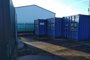 Self storage container unit in Carlisle