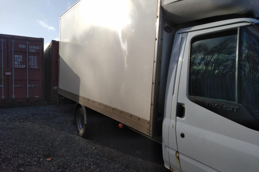 Van unloading