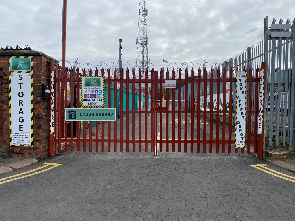 A secure storage facility in Carlisle